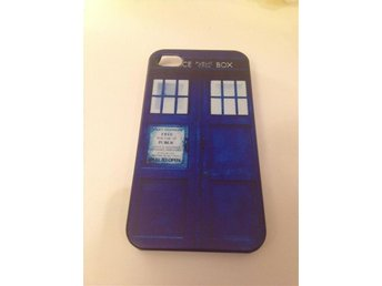Doctor Who Tardis iphone 4 4s skal