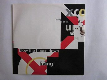 "Living in a box -Blow the house down 12"" 1989 house/electron"