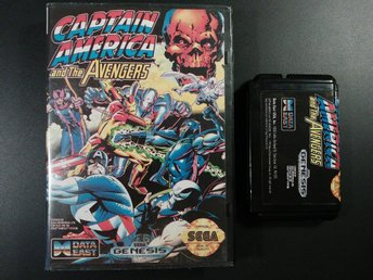 Captain America and the Avengers till Mega Drive - Japansk ( regionsfri )