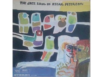 Oscar Peterson title* The Jazz Soul Of Oscar Peterson* US LP