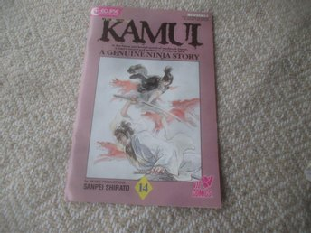 The Legend of Kamui #14, Eclipse/Viz, 1987