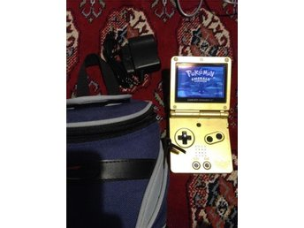 Game Boy Advance SP Zelda Edition+Pokemon Emerald