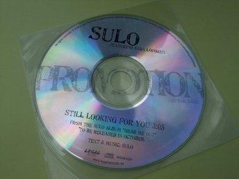 Sulo feat. Sara Löfgren - Still Looking For You- PROMO - 2008 - CD-SINGEL - Odensbacken - Sulo feat. Sara Löfgren - Still Looking For You- PROMO - 2008 - CD-SINGEL - Odensbacken