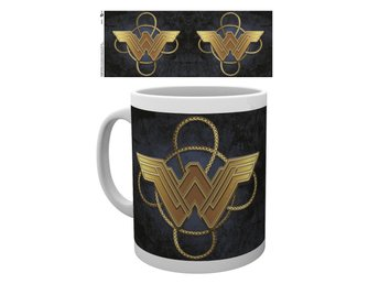 Mugg - DC Comics - Wonder Woman Gold Logo (MG1873)