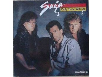 "Saga title* Only Time Will Tell* Pop Rock, Arena Rock 12"" Germany"