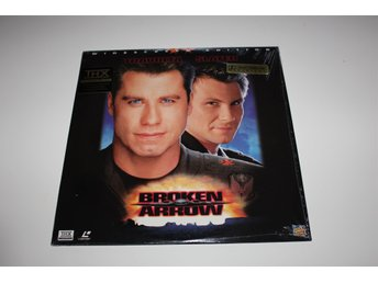 Broken arrow laser disc film i fint skick