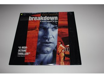 Breakdown laser disc film i fint skick