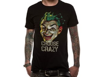 BATMAN 1966 - CHOOSE CRAZY (UNISEX) - Large