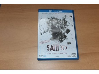 Blu-ray 3D + DVD: Saw (the final chapter)