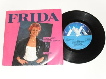 "ANNI-FRID LYNGSTAD - I KNOW THERE'S... (Polar 7"" 1982) ABBA"