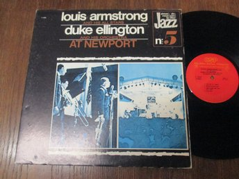 Louis Armstrong & Duke Ellington at Newport