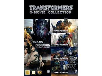 Transformers 1-5 collection (5 DVD)