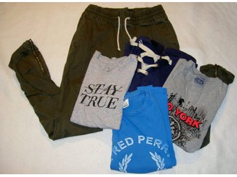 Paket mode brallor Zoo York stay true fred perry  smog