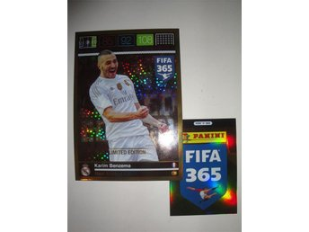 Panini FIFA 365 - Limited Edition XXL - KARIM BENZEMA - Real Madrid
