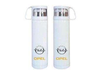 Opel rostfritt stål termos, Opel kaffetermos med mugg, Opel present - Karlskrona - Opel rostfritt stål termos, Opel kaffetermos med mugg, Opel present - Karlskrona