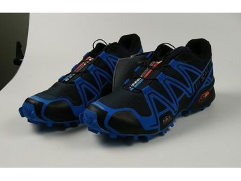 Salomon, stl 43 dark grey with blue NYA