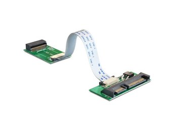 DeLOCK adapter MacBook Air SSD to SATA 22 pin ha