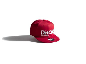DirtCult Anaheim Snapback Red