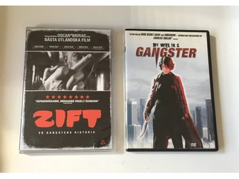 2x DVD filmer: My Wife Is A Gangster (2001) Zift (2008) action asian - Malmö - 2x DVD filmer: My Wife Is A Gangster (2001) Zift (2008) action asian - Malmö
