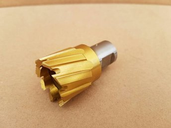 30mm magnetic Cutter - annular Mag Drill Bit 30 mm TITANIUM COATED Type HSS S1