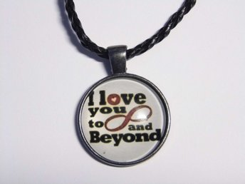 Love You to Infinity Halsband / Necklace