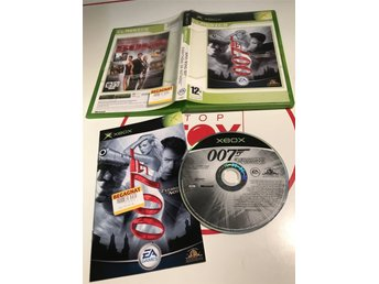 Xbox Originalet Första Xboxet original spel James Bond 007 Everything or Nothing