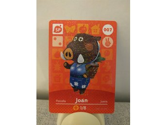 Animal Crossing Amiibo Welcome Amiibo card nr 007 Joan