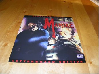 Manic - Letterboxed edition- Director's cut 1st LD elite press