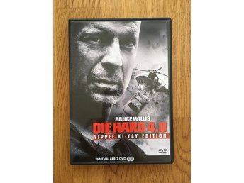 DVD Film — Die Hard 4.0 – 2 DVD – Action – Fint skick!