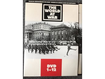 DVD-box 1-12 - The World at War - svensk utgåva!