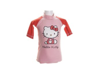 Hello Kitty, Baddräkt, Strl: 110/118, Rosa