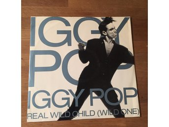 "IGGY POP - REAL WILD CHILD. (12"")"
