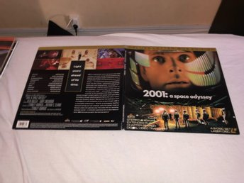 2001: a space odyssey - Deluxe  letterbox edition - 2st Laserdisc