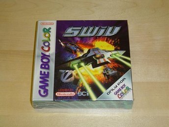 SWIV TILL NINTENDO GAMEBOY GAME BOY COLOR GBC *SEALED*