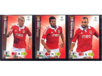 3 BENFICA Champions League 2012/2013 - GARAY + MARTINS + PEREIRA
