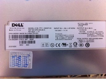 Dell  PSU 800W 0ND591 till Poweredge 1900