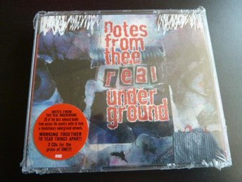 NOTES FROM THE REAL UNDER GROUND,  CD, CD-SKIVA