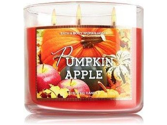 BATH & BODY WORKS 3-wicks Candle PUMPKIN APPLE **FYNDA** - Göteborg - BATH & BODY WORKS 3-wicks Candle PUMPKIN APPLE **FYNDA** - Göteborg
