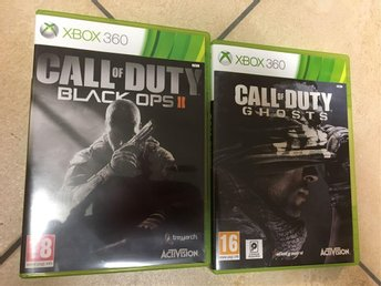 call of duty black ops ll och ghosts Xbox 360