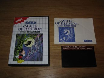 SEGA MS/PAL: Castle of Illusion Starring Mickey Mouse (komplett)