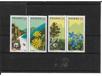 1975 Polen Blommor 2 par postfriska - Växjö - 1975 Polen Blommor 2 par postfriska - Växjö