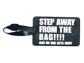 Step Away....!!!! Bagagetag / Addresstag / Luggage tag
