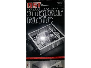 QST devoted entirely to amatör radio  Januari 1956   Beg.