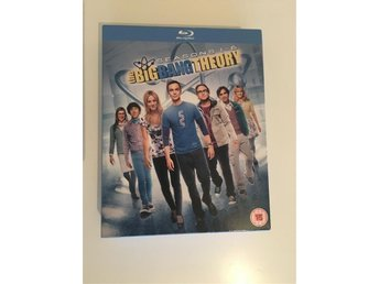 The Big Bang Theory Season 1-6 BLU-RAY (UK IMPORT)