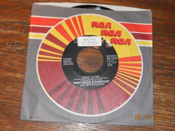 "FREDI GRACE & RHINSTONE - Love thang, 7"" RCA USA 1981"