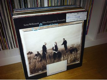 Lena Willemark / Elise Einarsdotter Ensemble - Secrets of Living LP 1989 Bibl.ex