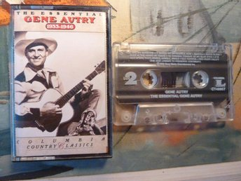 THE ESSENTIAL GENE AUTRY, 1933-1946, COUNTRY CLASSICS, KASSETTBAND