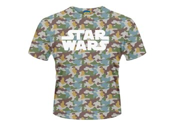 STAR WARS- BOBA FETT CAMO (DYE SUB) T-Shirt - Medium
