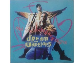 Dream Warriors title* And Now The Legacy Begins* 90* Hip Hop LP EU