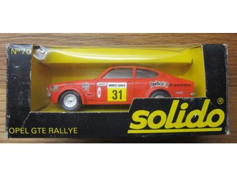 Solido Opel GTE Rallye Made in France